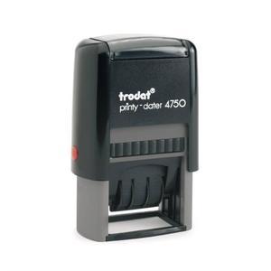 Trodat Printy-dater 4750  Leimasinlaatankoko: 41mm x 24mm