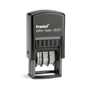 Trodat Printy-dater 4850  Leimasinlaatankoko: 25mm x 5mm